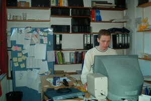Me in my office